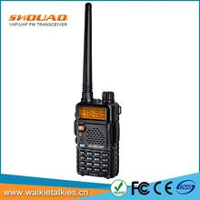 SHOUAO TS-Q8UV dual band 2 maneira de rádio portátil uhf <span class=keywords><strong>5</strong></span> watts <span class=keywords><strong>walkie</strong></span> <span class=keywords><strong>talkie</strong></span>