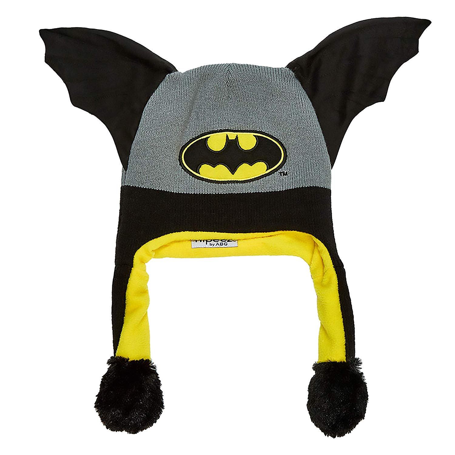 e9e69767aa0 Get Quotations · DC Comics Boys  Little Batman  Squeez and Flap  Fun Cold  Weather Laplander Hat