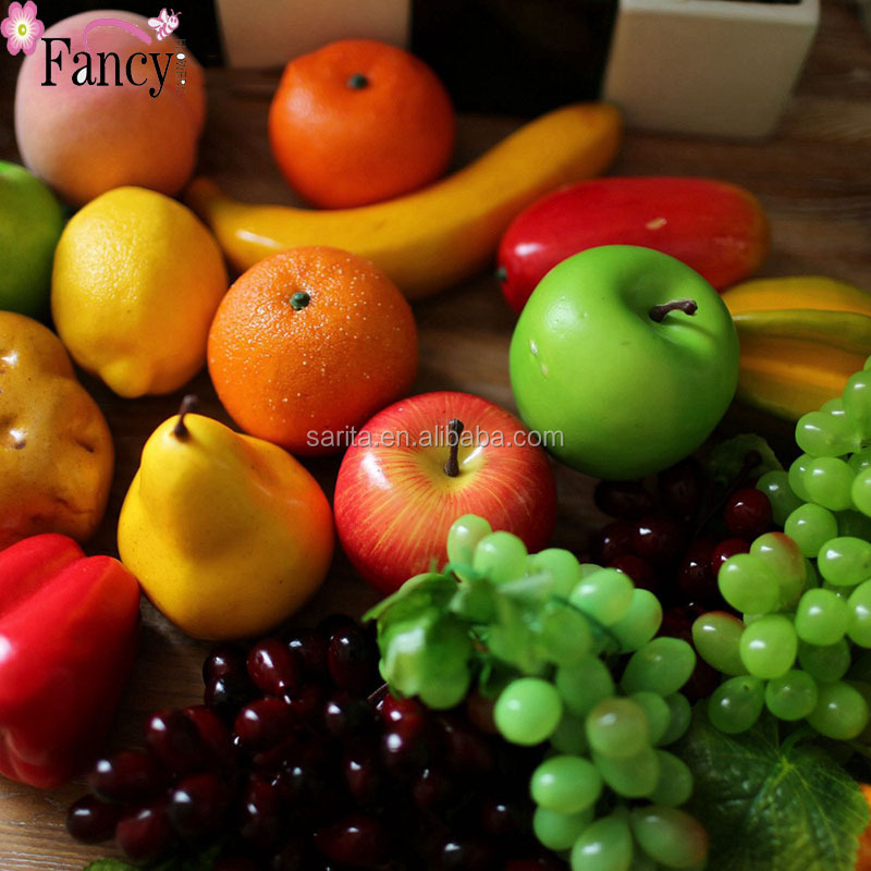 Festival Decorative Plastic Artificial Fruit And Vegetables For Home And  Party Decorations   Buy Fake Fruit,Fruit And Vegetable Christmas Decoration, Fake ...