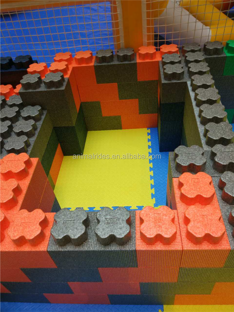 Mz newest kids epp foam blocks imagination building block for Foam block construction