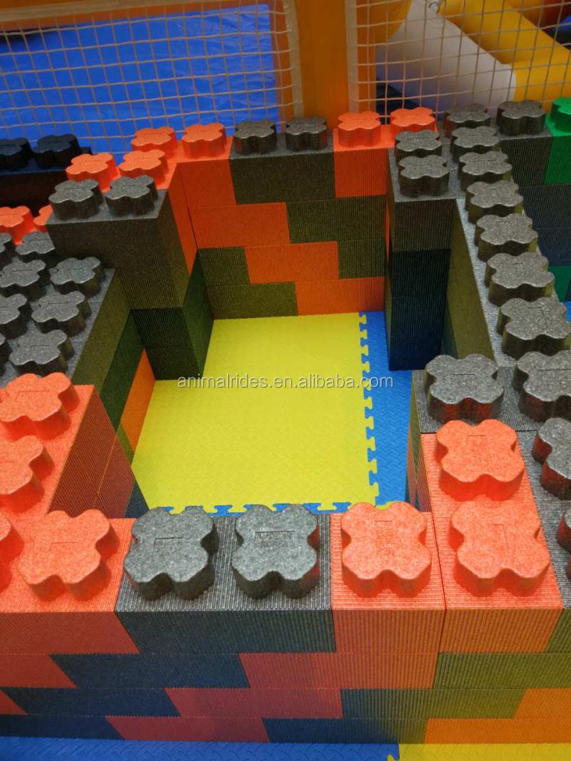 Mz newest kids epp foam blocks imagination building block for Foam block floor