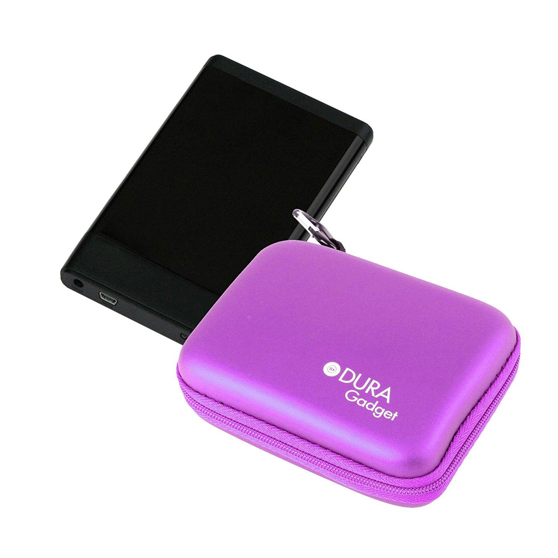DURAGADGET Hardwearing EVA HDD Case For Bipra 100GB 2.5 inch USB Portable HDD, Bipra 60GB 2.5 inch USB Portable HDD, Bipra 80GB 2.5 inch USB 2 Portable HDD, Bufalo Mini Station Air HDW-PU3 500 GB & Bufalo MiniStation Slim 1TB