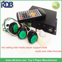 RDB Mkv divx flac hdd media player 1080P DS005-64