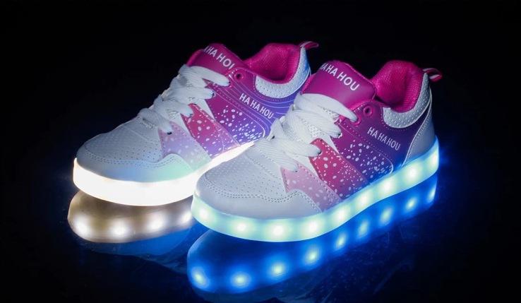 Skechers Girls Led Shoes