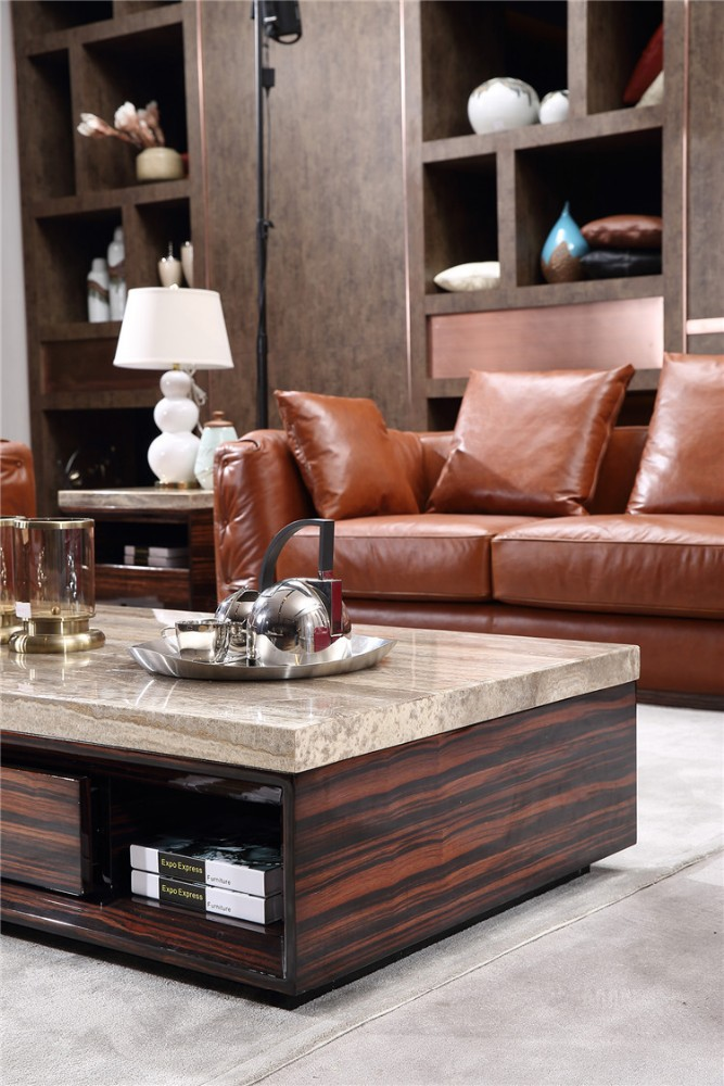 Italian Genuine Leather Furniture Manufacturers Hd322 In