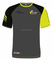 mens gym shirt custom 70% polyester 30% cotton t-shirt