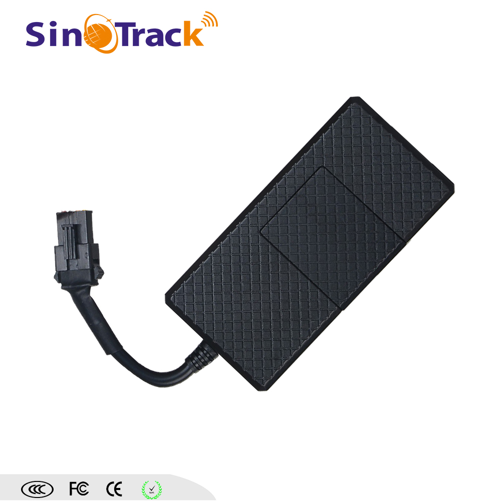 Remotely real time gps gsm car tracker with cut engine