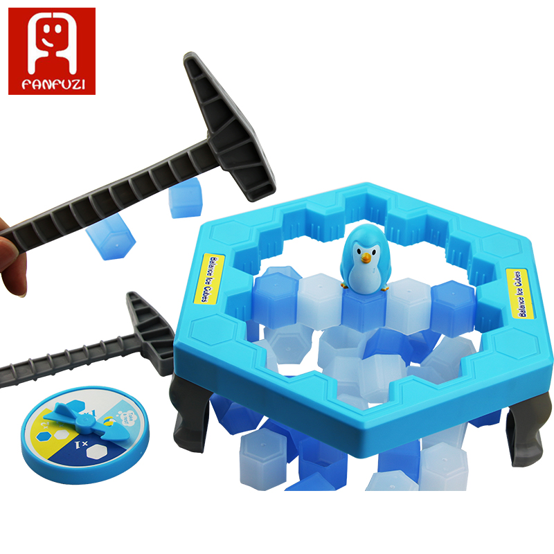 2018 Hot Sale Penguin Ice-Breaker balance ice cubes Funny Game Interactivel Toys