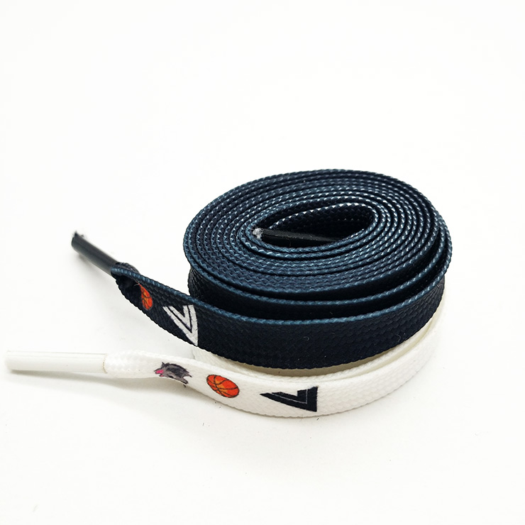Polyester customized delightful casper shoelace