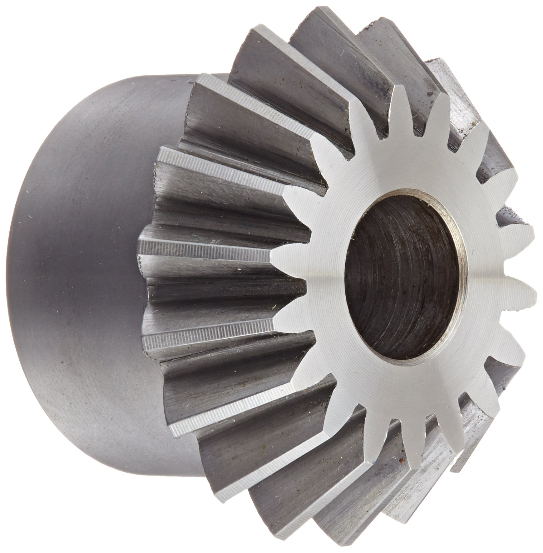 "Boston Gear L151Y-P Bevel Pinion Gear, 1.5:1 Ratio, 0.500"" Bore, 12 Pitch, 18 Teeth, 20 Degree Pressure Angle, Straight Bevel, Steel"