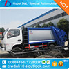 New design top quality Dongfeng compression garbage truck refuse collector