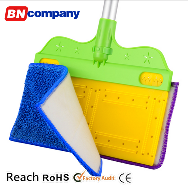 2016 New Item Broom Mop Holder Dry Mop and Wet Mop Spinning Broom