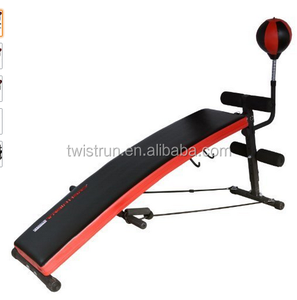 trainhard sit up bench step back punching bag weight bench.