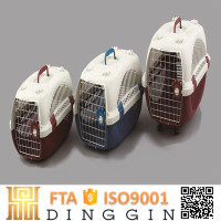Best selling pet products airline dog kennel plastic