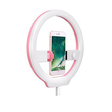 <span class=keywords><strong>YONGNUO</strong></span> YN128 Fotografie LED Ring Selfie Licht 3200 K-5500 K Tafelblad Dimbare Live Stream Video Verlichting voor iPhone X