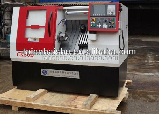 inclined bed CK30D slant bed high profile cnc lathe for sall workpieces