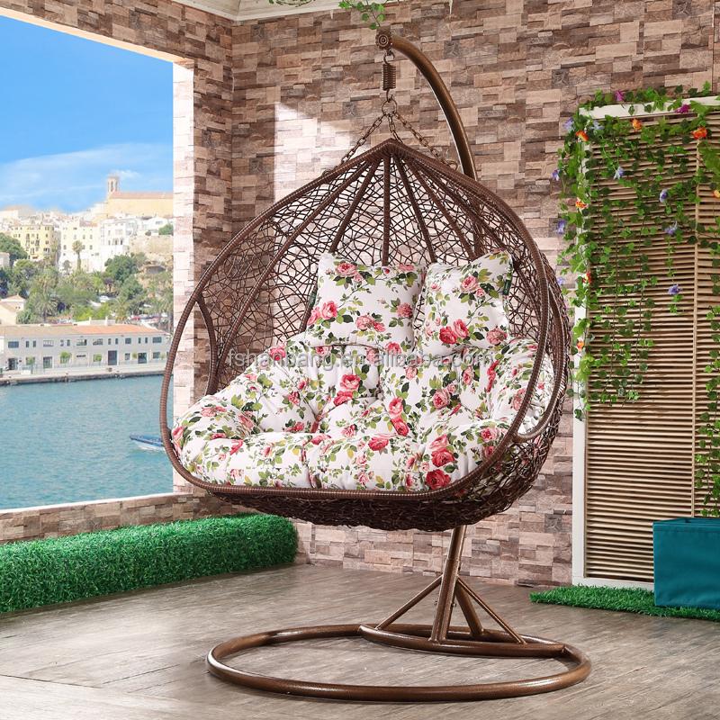erwachsene zwei personen rattan korb abstellfl che outdoor gartenschaukel stuhl zum verkauf. Black Bedroom Furniture Sets. Home Design Ideas