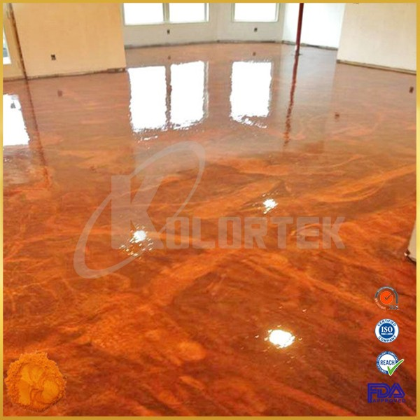 Metallic Effect Epoxy Resin 3d Flooring Paint Pigment For