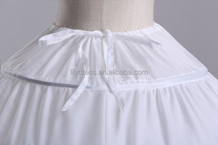 Como hacer una enagua para vestido de novia