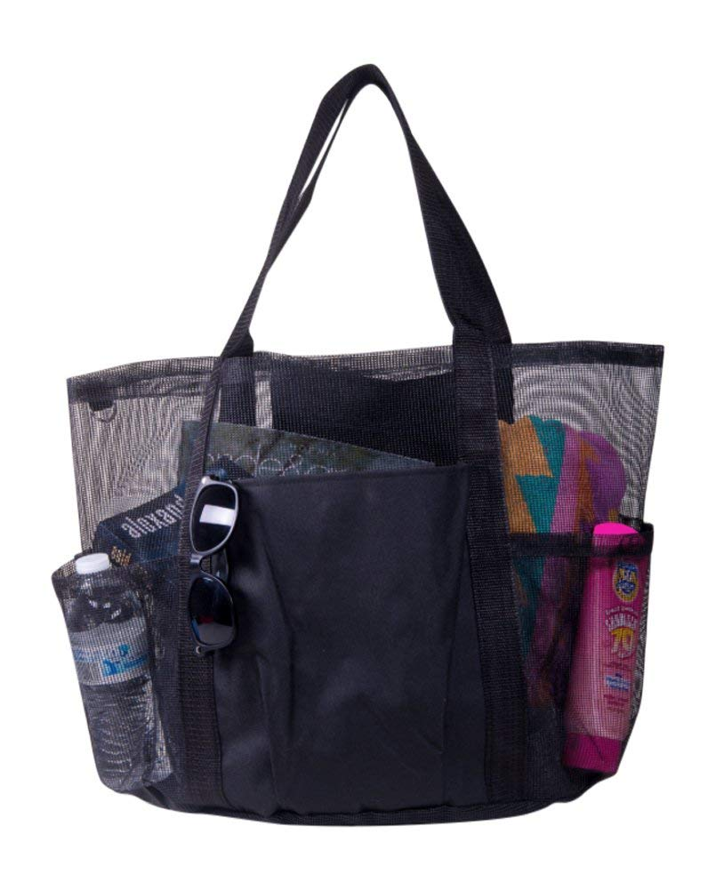 X-Large Carryall Mesh Family Beach Gym Bag Tote