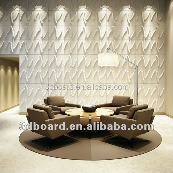 Plant fiber tv background modern design 3d wallpaper walls