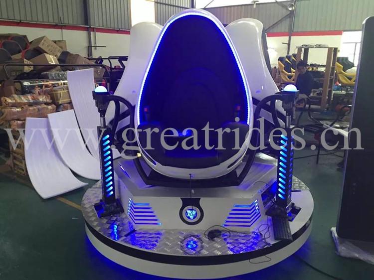 Fashion 360 degrees rotate theme park 9d vr virtual reality simulation amusement rides