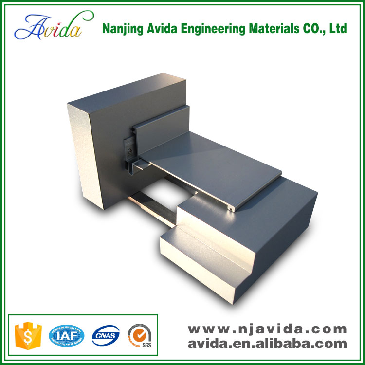 Extruded Aluminum Wall to Ceiling Expansion Joint Drywall