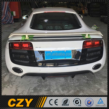 Active Racing Carbon R8 V8 Car Tail Spoiler for Audi Spyder 08up
