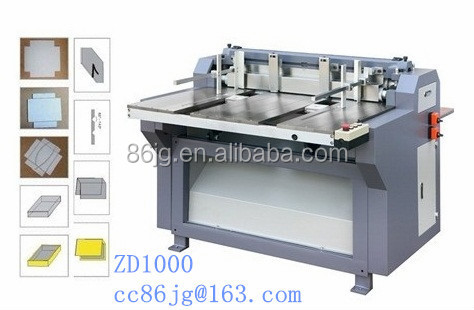 ZD1000 grooving machine for Print Pack Company