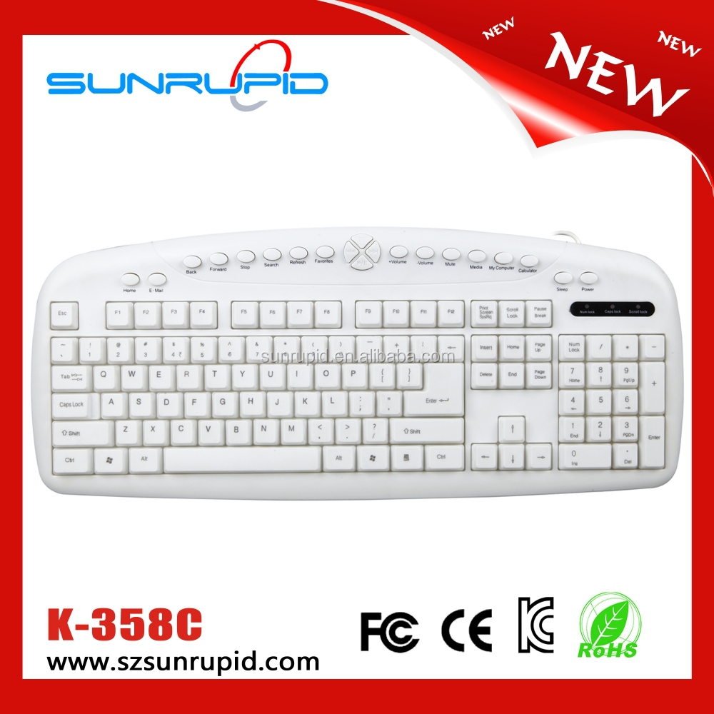 Office Household Usage Big Size Wired Keyboard,Ps/2 Interface 20 ...