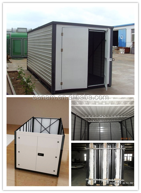 Low cost EPS sandwich panel folding container house price for sale