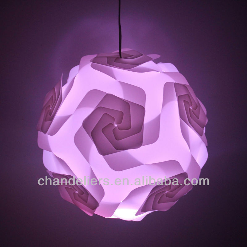 2016 New Design Iq Lamp Shade Jigsaw Puzzle Lighting Infinity Lights