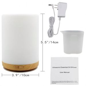Mushroom Lamp LED Humidifier Home Air Diffuser Purifier Atomizer essential oil difusor de aroma mist maker fogger