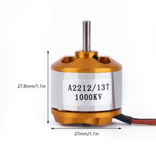 High Quality A2212 KV93 Brushless Motor For RC Multirotor Aircraft Model Airplane Hobby Worldwide Sale