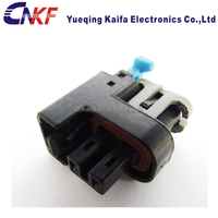 delphi 2 pin female socket injector plug rubber wire connector 15326181