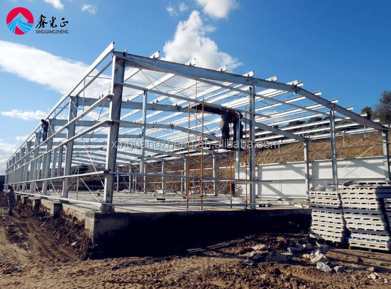 china supplier economic light steel structure warehouse