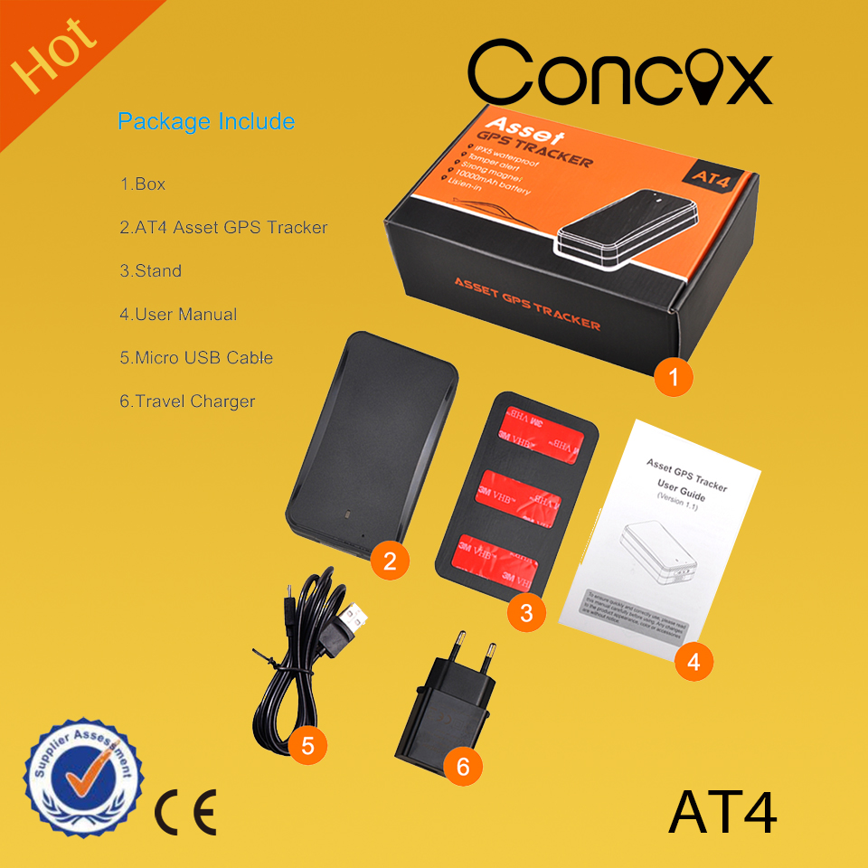 Concox GPS tracker AT4 with voice monitor and strong magnetic tamper alert  Asset GPS Tracker, View Gps tracking devices, Concox Product Details from