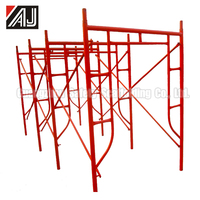 1930*1219 Standard Construction Platform Frame Scaffolding System For Building Decoration,Made in Guangzhou China.
