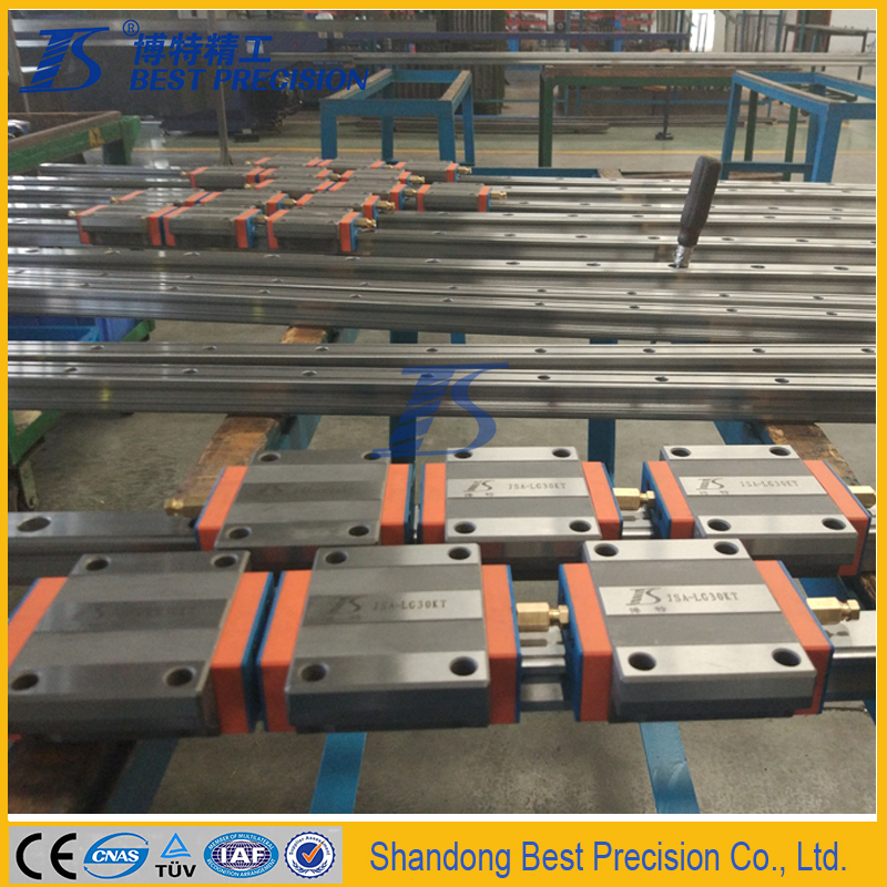 Best precision linear guide rail matching with HIWIN HGH,HGW,EGH,EGW,EGN,MGW,HGR,EGR,HGL Series Linear Guide