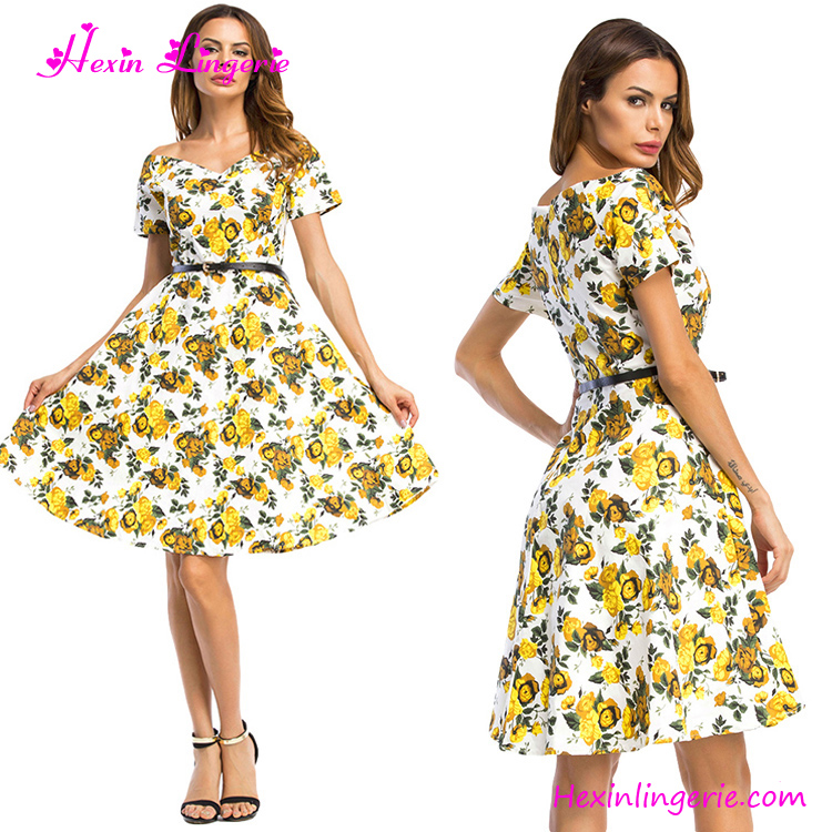USA Warehouse Delive Ladies Sexy Fat Women Office Uniform Latest Fashion Ladies Casual Dresses