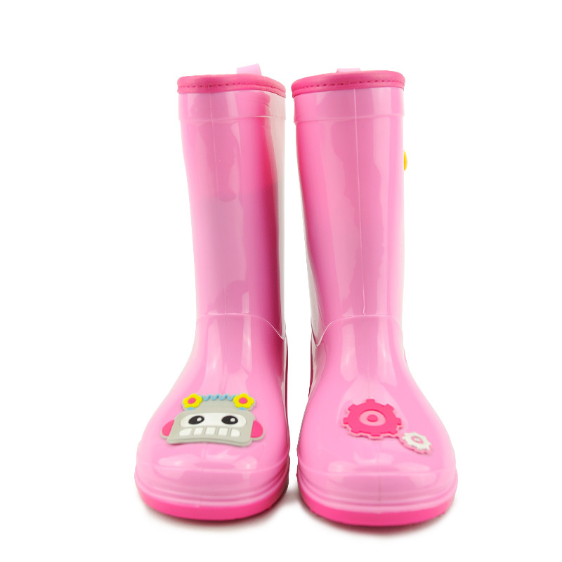 Child Boy Rain Boots Shoes Kid Boy Girl Rubber Shoe Anti Skid Natural Waterproof Rain Boots Environmental Protection Rain Shoes To Have Both The Quality Of Tenacity And Hardness Girls Children's Shoes