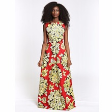 High Quality fashion african maxi dress beautiful summer prom dress