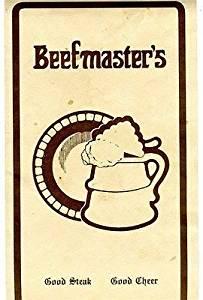 Beefmaster's Menu Joplin Missouri 1970's Discotheque