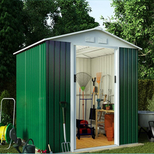 2018 China metal storage sheds, garden shed factory direct sale