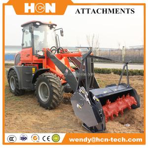 wheel loader mulcher attachment /forestry teeth