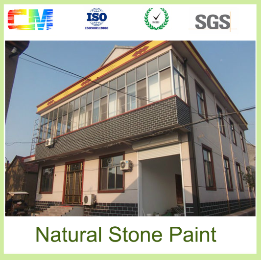 Hot sale anti midew waterproof natural stone effect exterior texture wall coating in guangzhou - Waterproofing paint for exterior walls collection ...