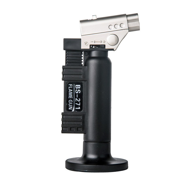 Portable outdoor butane gas flame burner torch gun set BS-271