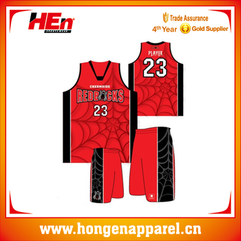 0f31eaaa8491 2016 New Style Spiderman Red Basketball Uniforms Wholesale - Buy Red ...