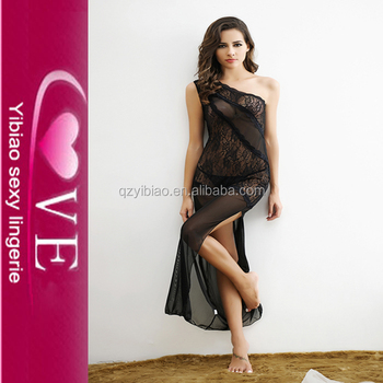 80d932bc9c4 Lace Lingerie Dress Of Girls Sexy Pajamas Women Robe Femme ...