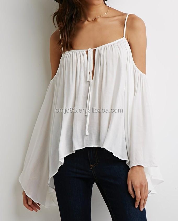 open schouder shirt